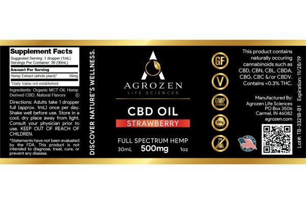 Full Spectrum 500mg CBD Oil