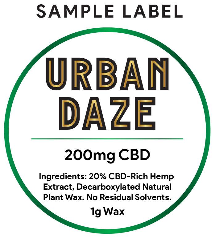 CBD-Wax-sample-label